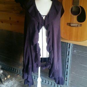 Gorgeous Purple Poncho
